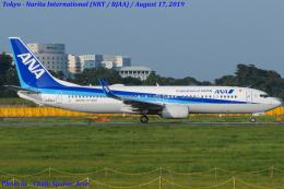 Chofu Spotter Ariaさんが、成田国際空港で撮影した全日空 737-8ALの航空フォト(写真)