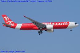 Chofu Spotter Ariaさんが、成田国際空港で撮影したタイ・エアアジア・エックス A330-941の航空フォト(飛行機 写真・画像)