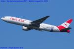 Chofu Spotter Ariaさんが、成田国際空港で撮影したオーストリア航空 777-2Q8/ERの航空フォト(飛行機 写真・画像)