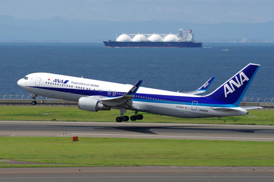 yabyanさんの全日空 Boeing 767-300 (JA625A) 航空フォト