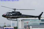 Chofu Spotter Ariaさんが、東京ヘリポートで撮影した日本個人所有 AS350B Ecureuilの航空フォト(写真)