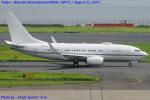 Chofu Spotter Ariaさんが、羽田空港で撮影したロイヤル・ジェット 737-77W BBJの航空フォト(飛行機 写真・画像)