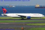 Chofu Spotter Ariaさんが、羽田空港で撮影したデルタ航空 777-232/ERの航空フォト(写真)