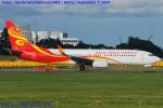 Chofu Spotter Ariaさんが、成田国際空港で撮影した海南航空 737-84Pの航空フォト(写真)