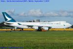 Chofu Spotter Ariaさんが、成田国際空港で撮影したキャセイパシフィック航空 747-467F/ER/SCDの航空フォト(写真)