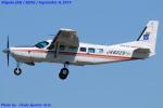 Chofu Spotter Ariaさんが、新潟空港で撮影したアジア航測 208 Caravan Iの航空フォト(飛行機 写真・画像)