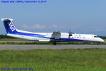 Chofu Spotter Ariaさんが、新潟空港で撮影したANAウイングス DHC-8-402Q Dash 8の航空フォト(飛行機 写真・画像)