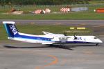 セブンさんが、新千歳空港で撮影したANAウイングス DHC-8-402Q Dash 8の航空フォト(飛行機 写真・画像)