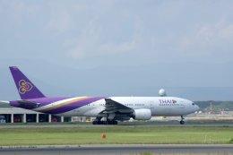 kitayocchiさんが、新千歳空港で撮影したタイ国際航空 777-2D7/ERの航空フォト(飛行機 写真・画像)