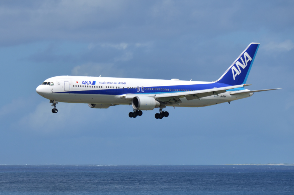 EC5Wさんの全日空 Boeing 767-300 (JA616A) 航空フォト