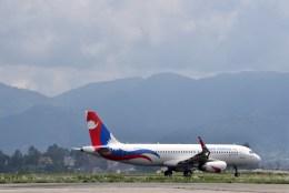 よんすけさんが、トリブバン国際空港で撮影したネパール航空 A320-233の航空フォト(飛行機 写真・画像)