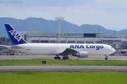 イチカメさんが、熊本空港で撮影した全日空 767-381F/ERの航空フォト(飛行機 写真・画像)