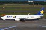 セブンさんが、新千歳空港で撮影したスカイマーク 737-82Yの航空フォト(飛行機 写真・画像)