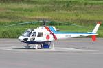 セブンさんが、札幌飛行場で撮影したつくば航空 AS350B Ecureuilの航空フォト(飛行機 写真・画像)