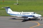 セブンさんが、札幌飛行場で撮影した中日本航空 B200 Super King Airの航空フォト(飛行機 写真・画像)