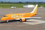 セブンさんが、札幌飛行場で撮影したフジドリームエアラインズ ERJ-170-200 (ERJ-175STD)の航空フォト(飛行機 写真・画像)