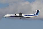kuro2059さんが、伊丹空港で撮影したANAウイングス DHC-8-402Q Dash 8の航空フォト(飛行機 写真・画像)