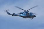神宮寺ももさんが、泉大津フェニックスで撮影した愛知県警察 412EPの航空フォト(写真)