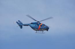 神宮寺ももさんが、泉大津フェニックスで撮影した秋田県警察 BK117C-1の航空フォト(飛行機 写真・画像)