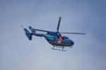 神宮寺ももさんが、泉大津フェニックスで撮影した茨城県警察 BK117C-1の航空フォト(写真)