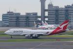 らむえあたーびんさんが、羽田空港で撮影したカンタス航空 747-438の航空フォト(写真)