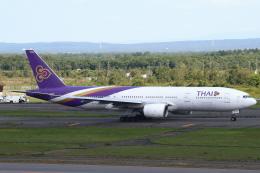 セブンさんが、新千歳空港で撮影したタイ国際航空 777-2D7/ERの航空フォト(飛行機 写真・画像)