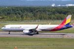 セブンさんが、新千歳空港で撮影したアシアナ航空 A321-231の航空フォト(写真)