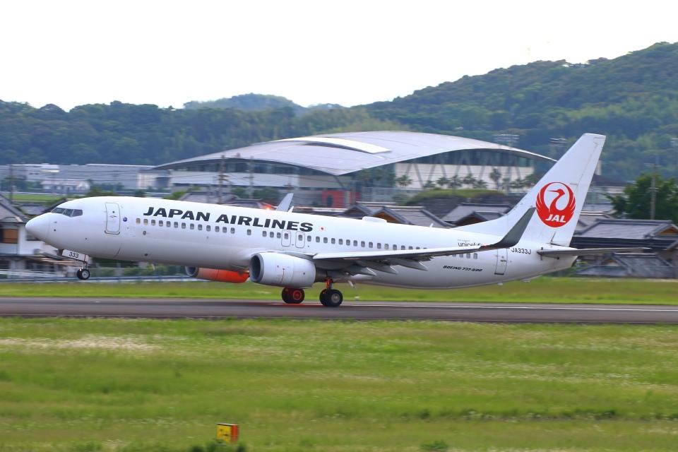 Kuuさんの日本航空 Boeing 737-800 (JA333J) 航空フォト