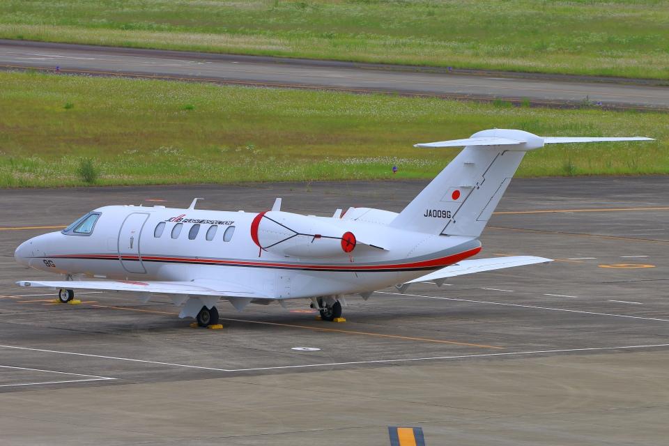 Kuuさんの国土交通省 航空局 Cessna 525 CitationJet (JA009G) 航空フォト