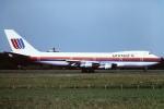 tassさんが、成田国際空港で撮影したユナイテッド航空 747-123の航空フォト(写真)
