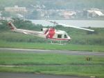 ヒコーキグモさんが、岡南飛行場で撮影した朝日航洋 204B-2(FujiBell)の航空フォト(写真)