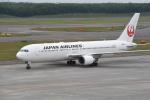 kumagorouさんが、新千歳空港で撮影した日本航空 767-346/ERの航空フォト(飛行機 写真・画像)