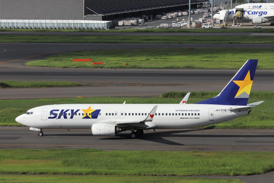 KAZFLYERさんのスカイマーク Boeing 737-800 (JA737Q) 航空フォト