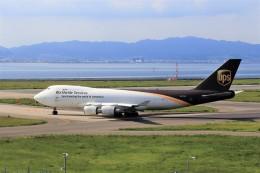 T.Sazenさんが、関西国際空港で撮影したUPS航空 747-44AF/SCDの航空フォト(飛行機 写真・画像)