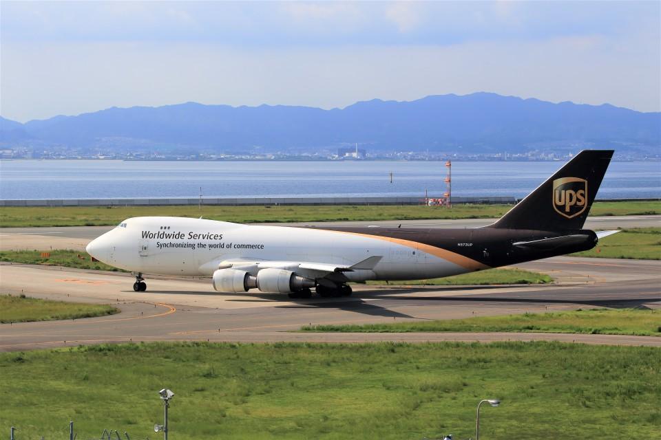 T.SazenさんのUPS航空 Boeing 747-400 (N573UP) 航空フォト