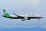 HISAHIさんが、福岡空港で撮影したエバー航空 A321-211の航空フォト(写真)