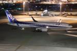ゆう改めてさんが、羽田空港で撮影した全日空 767-381/ERの航空フォト(写真)