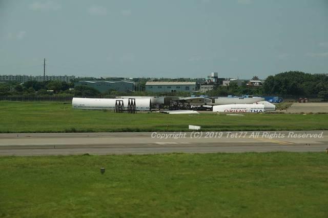 tet77さんが、台湾桃園国際空港で撮影したオリエント・タイ航空 747-441の航空フォト(飛行機 写真・画像)