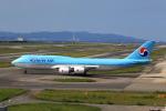 T.Sazenさんが、関西国際空港で撮影した大韓航空 747-8B5の航空フォト(写真)