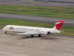遠森一郎さんが、羽田空港で撮影した日本航空 MD-90-30の航空フォト(写真)