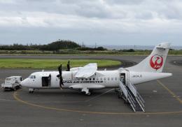くーぺいさんが、沖永良部空港で撮影した日本エアコミューター ATR-42-600の航空フォト(飛行機 写真・画像)