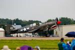 またぁりさんが、ウィットマンリージョナル空港で撮影したアメリカ個人所有 P-40N Warhawkの航空フォト(飛行機 写真・画像)