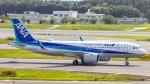 ケロリ/Keroriさんが、成田国際空港で撮影した全日空 A320-271Nの航空フォト(写真)