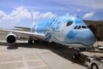 SIさんが、ダニエル・K・イノウエ国際空港で撮影した全日空 A380-841の航空フォト(写真)