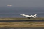メンチカツさんが、羽田空港で撮影した金鹿航空 Falcon 7Xの航空フォト(写真)
