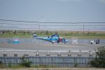 神宮寺ももさんが、泉大津フェニックスで撮影した警視庁 A109E Powerの航空フォト(写真)