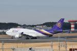 panchiさんが、成田国際空港で撮影したタイ国際航空 747-4D7の航空フォト(飛行機 写真・画像)