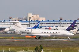 panchiさんが、成田国際空港で撮影したPrivate owner G-V-SP Gulfstream G550の航空フォト(飛行機 写真・画像)