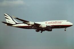 成田国際空港 - Narita International Airport [NRT/RJAA]で撮影されたカナディアン航空 - Canadian Airlines [CP/CDN]の航空機写真