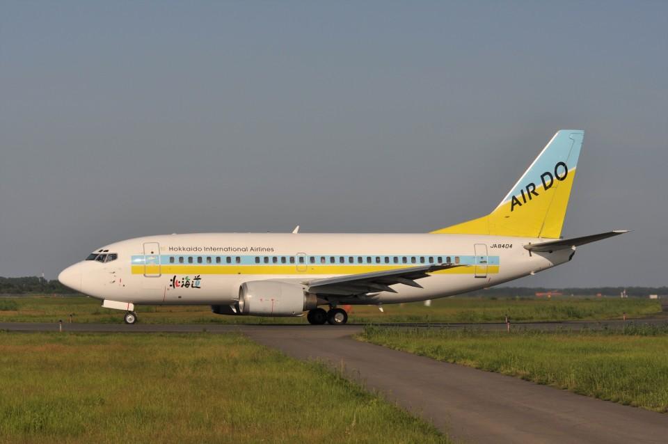 kumagorouさんのAIR DO Boeing 737-500 (JA8404) 航空フォト